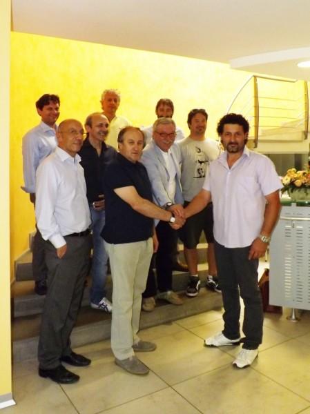 I protagonisti dell'accordo tra Polo e Globo
