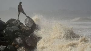 Cyclone Nisarga: Storm set to hit Covid-ravaged Mumbai