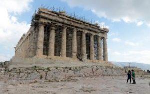 Φωταγώγηση της Ακρόπολης παρουσία ξένων ηγετών την Τετάρτη
