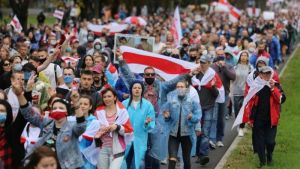 Belarus: Mass arrests and tear gas on seventh weekend of protests