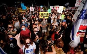 Ισραήλ: Διαδήλωση κατά της καραντίνας έξω από το σπίτι του Νετανιάχου