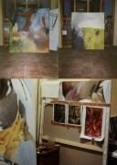 Studio - Barcelona - Oil paintings.