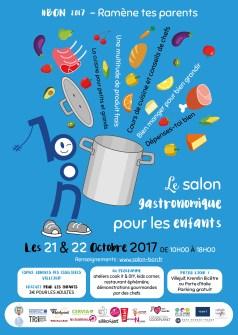 Affiche A3 pour la promotion du salon #BON 2017