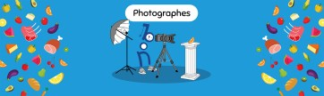 Banderole pour le stand Photographes du salon #BON 2017