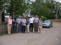 We and the Russian team that greeted us in Volgograd
