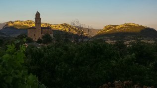 Magnificent landscape of Patrimonio in which we catch the flycatchers