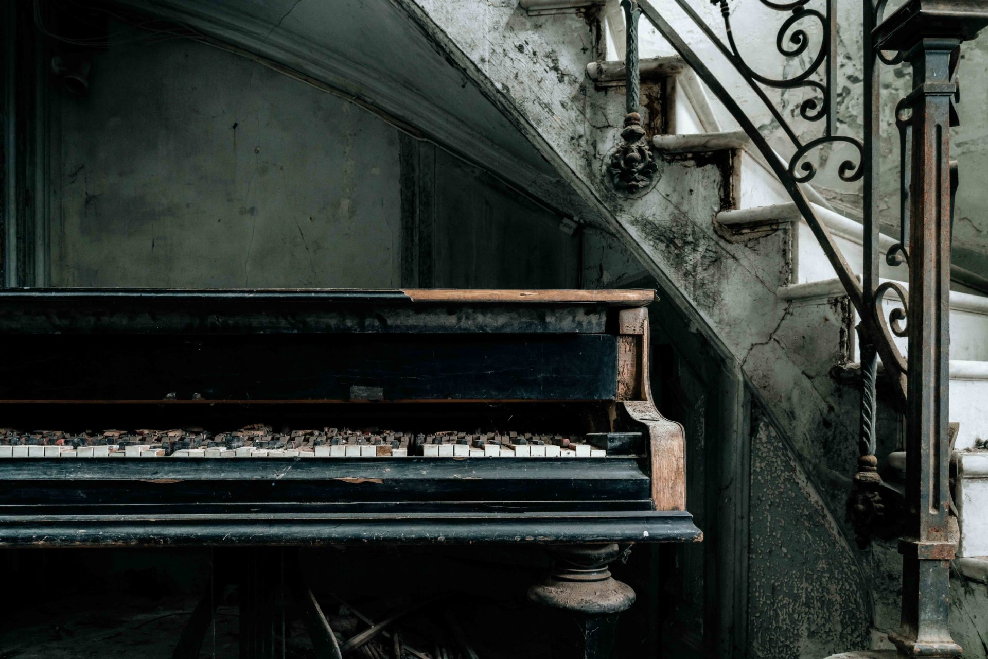 Requiem pour pianos 86 | Serie Requiem pour pianos | Romain Thiery | France