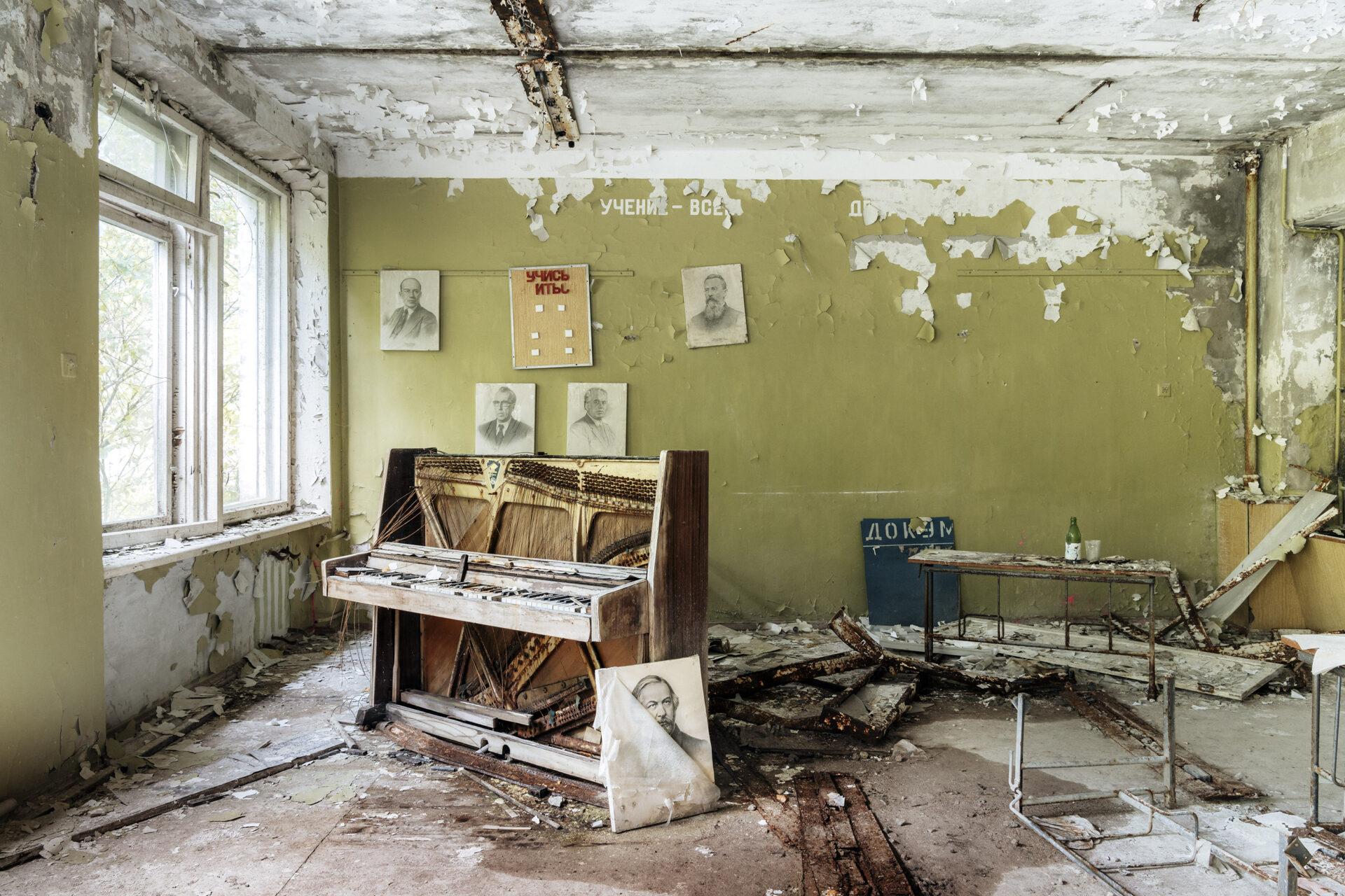 Requiem pour pianos 41 | Serie Requiem pour pianos | Romain Thiery