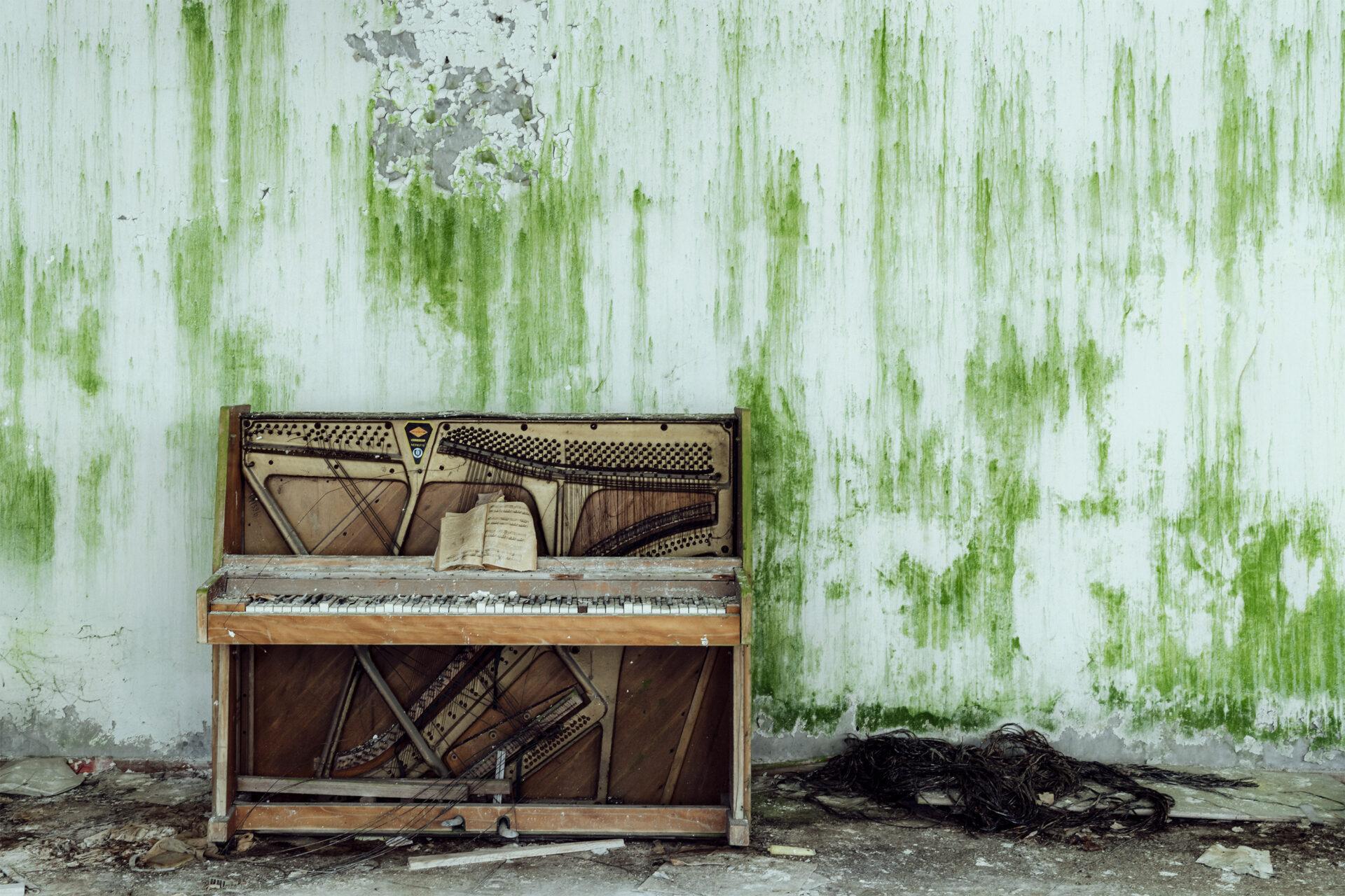 Requiem pour pianos 88 | Serie Requiem pour pianos | Romain Thiery