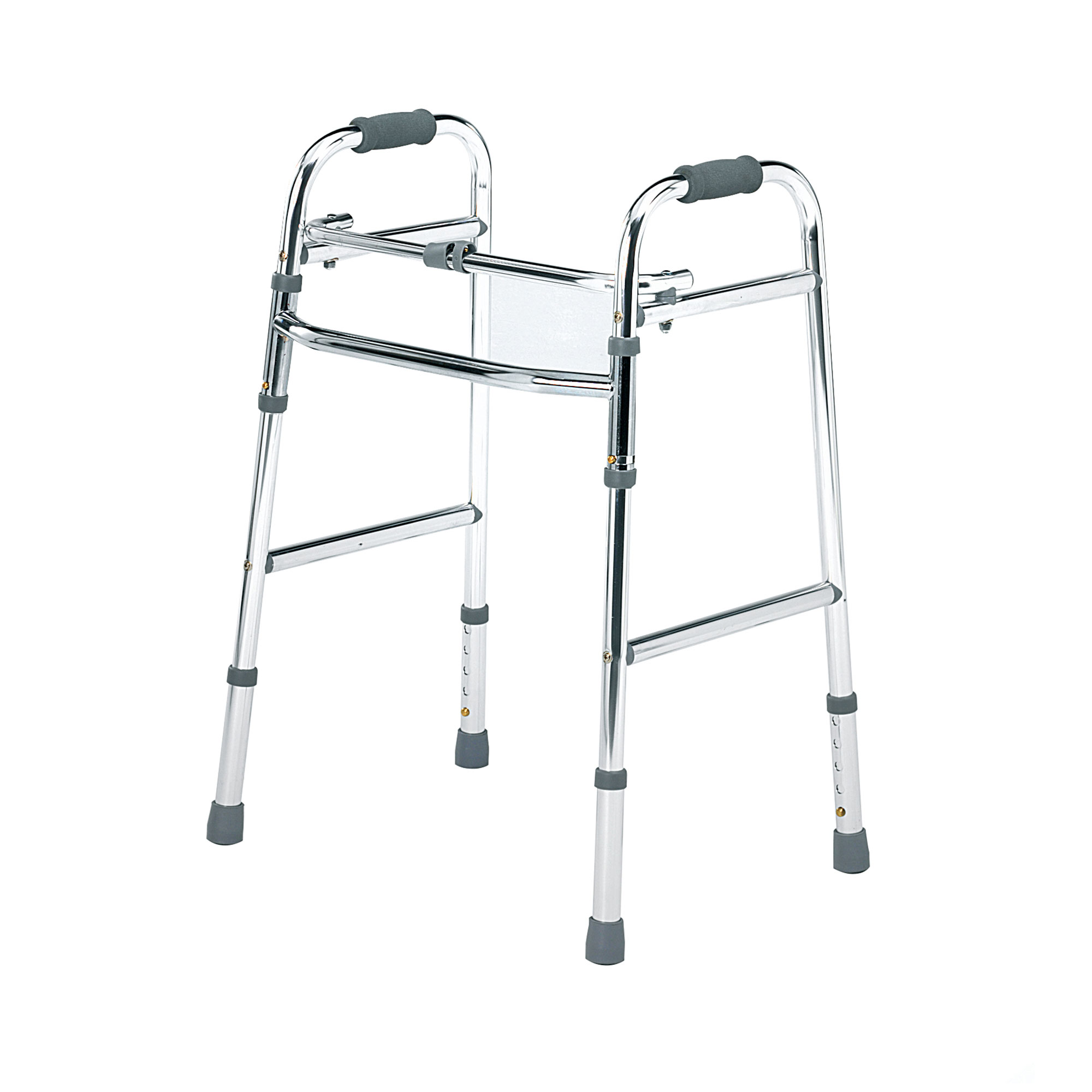 C Folding Lightweight Walking Frame With Front