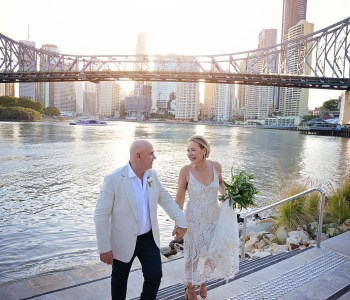 brisbane river wedding