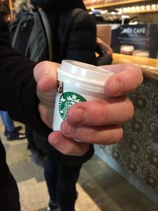 World's smallest Starbuck's.