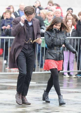 241 the time of the doctor matt smith jenna coleman