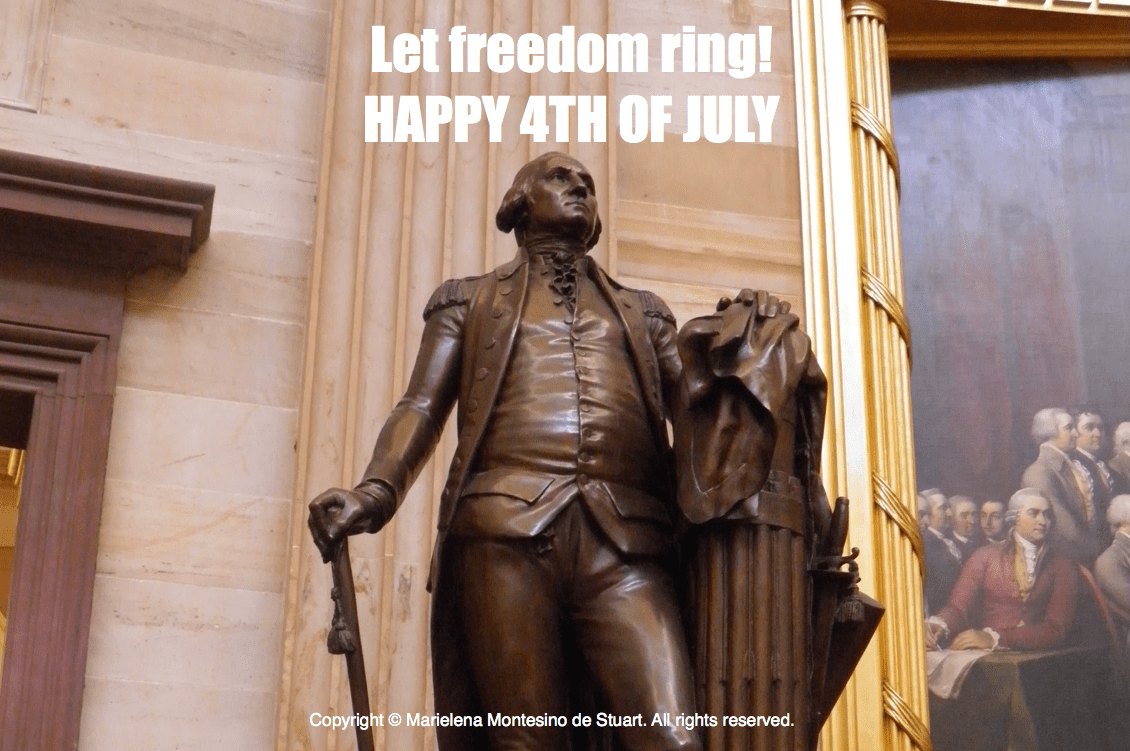 Let Freedom Ring! Happy Fourth of July 2016!
