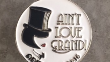 Love gone wild business card holder romance writers of australia aint love grand rwa adelaide 2016 conference badge reheart Gallery