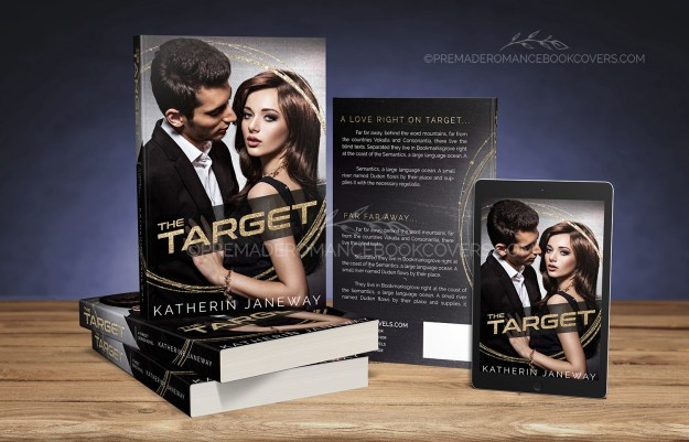 The Target Premade Mystery Suspense Romance Book Cover