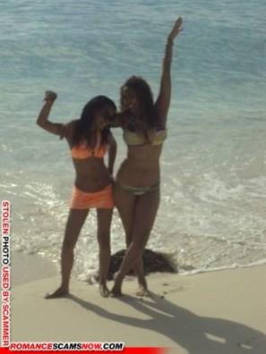 Georgina Africa - probably stolen images