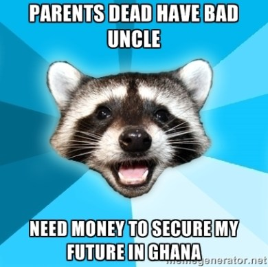 Parents Dead Have Bad Uncle Need Money To Secure My Future In Ghana
