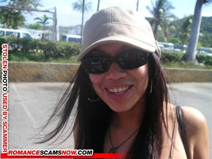 Ayisha Adam 2 - Romance Scammer / Dating Scammer - Image Stolen From Real Person