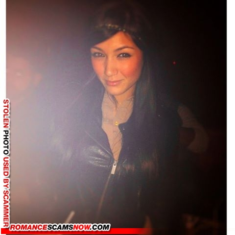 amandaredlanders@yahoo 1 - Romance Scammer / Dating Scammer - Image Stolen From Real Person
