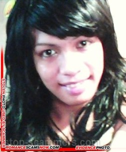 Dating Scammer Marjorie Labasa from Caloocan