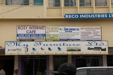 Ghana Cyber Cafe