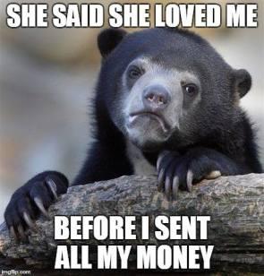 She said she loved me...