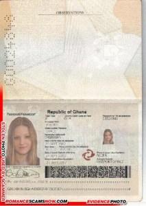 Grace Awihku - Ghana Passport G0024848