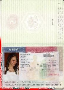 U.S.A. Visa - Patricia Okumah - Ghana Passport H0762359