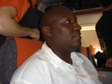 Dating Scammer Kazeem Owonla seeing the world on your money