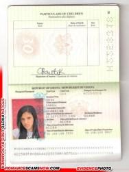 Sandra Obeng - Ghana Passport H2258318