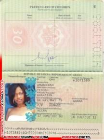 Yeboah Amankwah - Ghana Passport H1071889