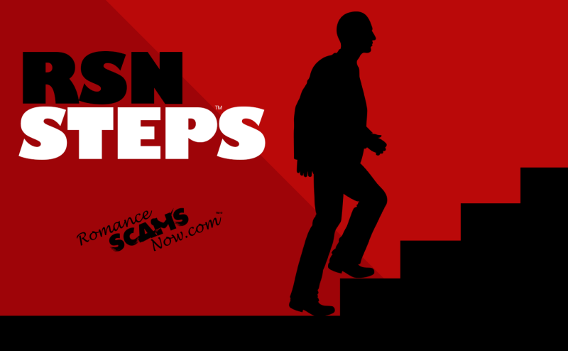 RSN Steps™ FREE Scam Victim Recovery Program from Romance Scams Now™ a SCARS™ Approved Program