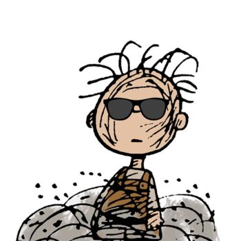 Pig Pen from the Peanuts