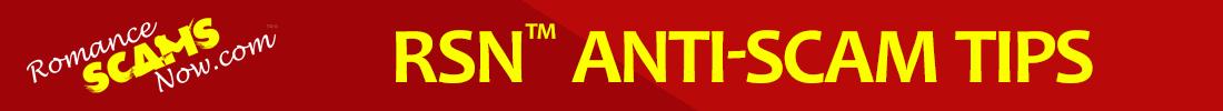 RSN™ Anti-Scam Tips