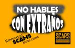 ADVERTENCIA DE ESTAFA: ¡No confunda a los mensajes privados!