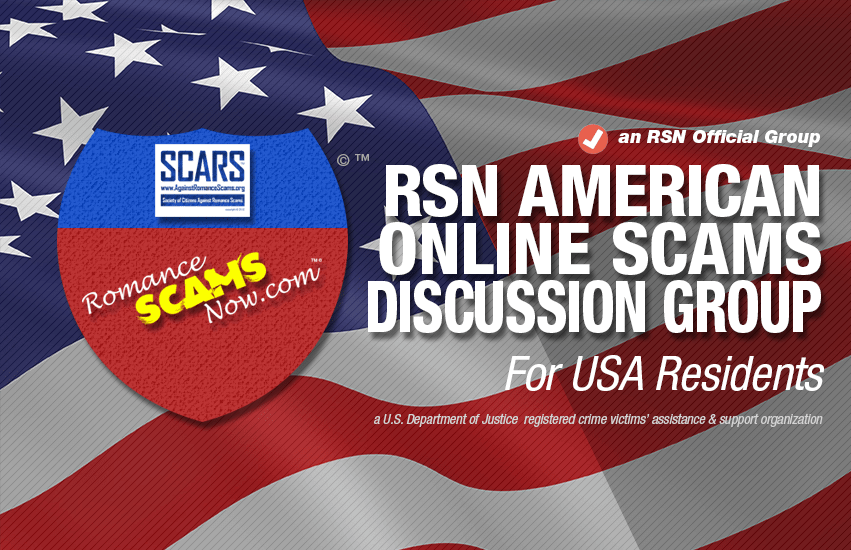 American Scams & Scammers™ - an Official RSN™ Scam Discussion Group