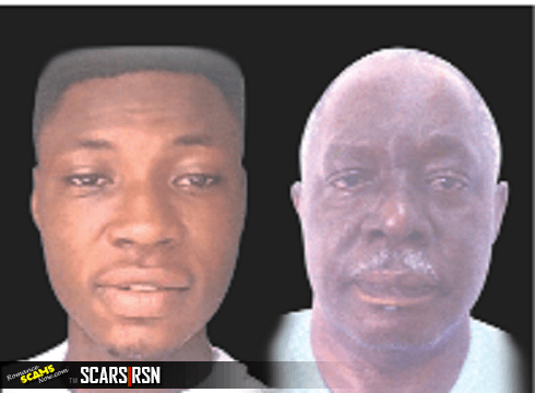 Maxwell Peter and Babatunde Martins fled to Ghana after committing the crime