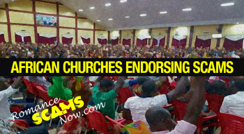 RSN™ Special Report: The Culture Of Scamming – Ghana Scammers Go To Church That Endorses Scams