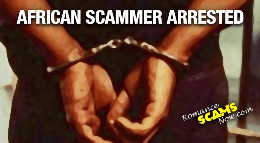AFRICAN-SCAMMER-ARRESTED
