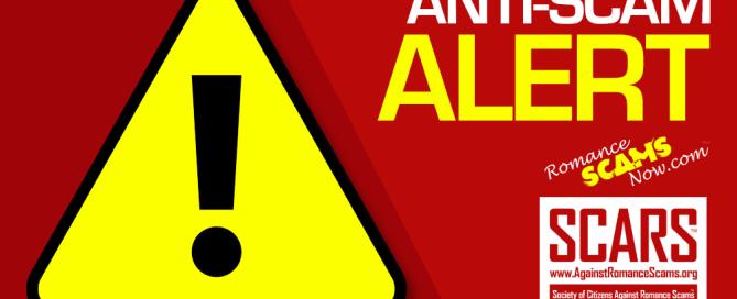 Anti-Scam Alert Warning