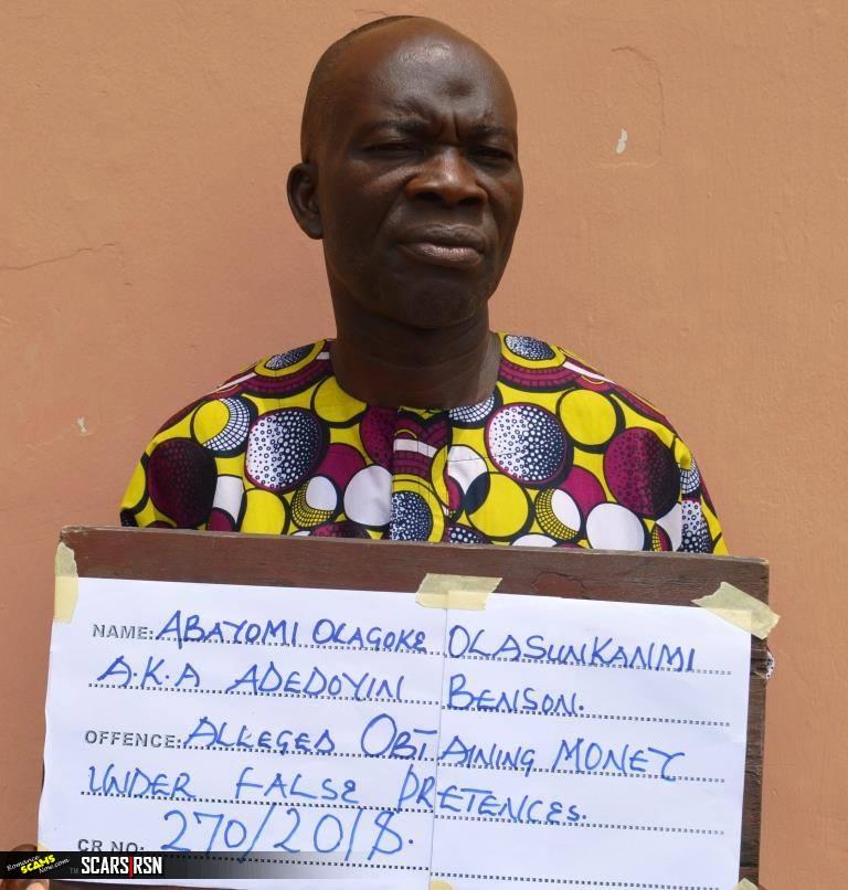 Nigerian Scammer Abayomi Olagoke Olasunkanmi Arrested