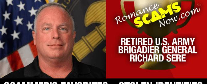Retired U.S. Army Brigadier General Richard Sere