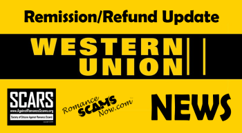 RSN™ Special Report: Western Union Remission/Refund Program Update/News