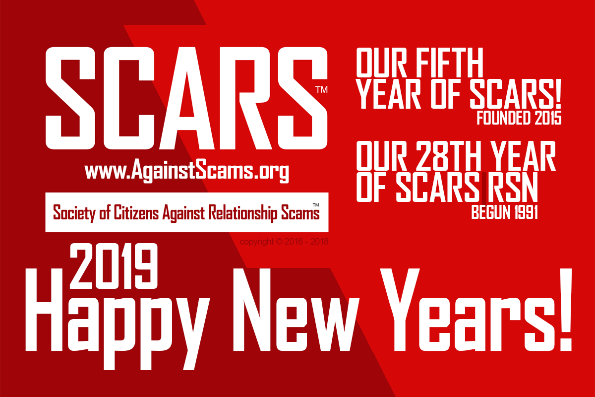 2019 OUR FOURTH YEAR OF SCARS AND THE 28TH YEAR OF SCARS|RSN