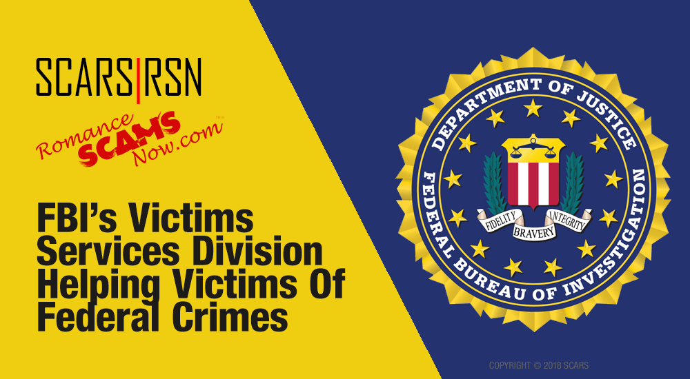 Get Help Directly From The FBI's Victim Services Division