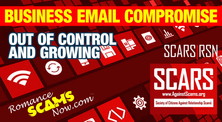 SCARS|RSN™ Scam Warning: FBI Warns American Business Owners of Business E-Mail Compromise Scam