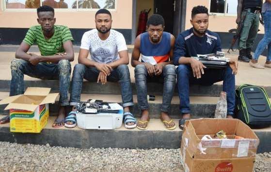 20190202 19 Nigerian Internet Fraudsters Arrested 14