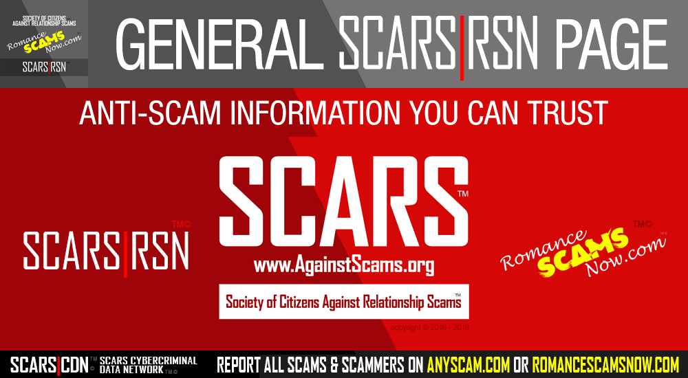SCARS|RSN Romance Scams Now Principal Facebook Pages
