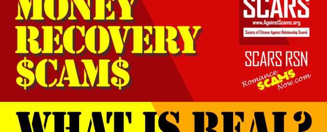 Scam Money Recovery - What Is Real?
